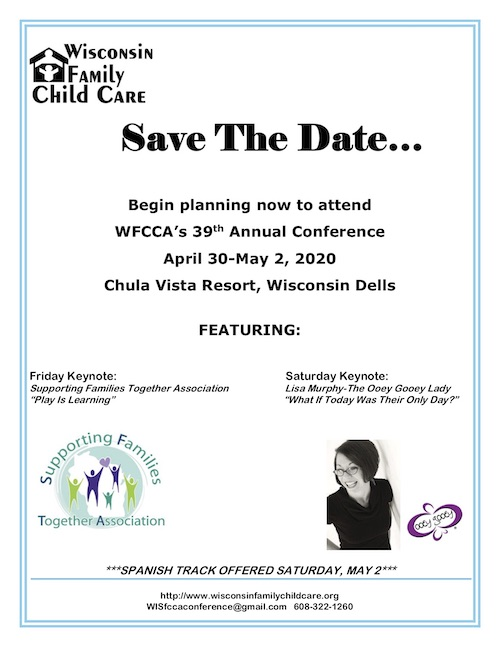 Family Child Care Conference - WFCCA Family Child Care Conference